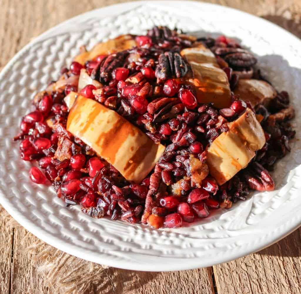 Black Rice Winter Stir-Fry is filling and extremely nutritious!