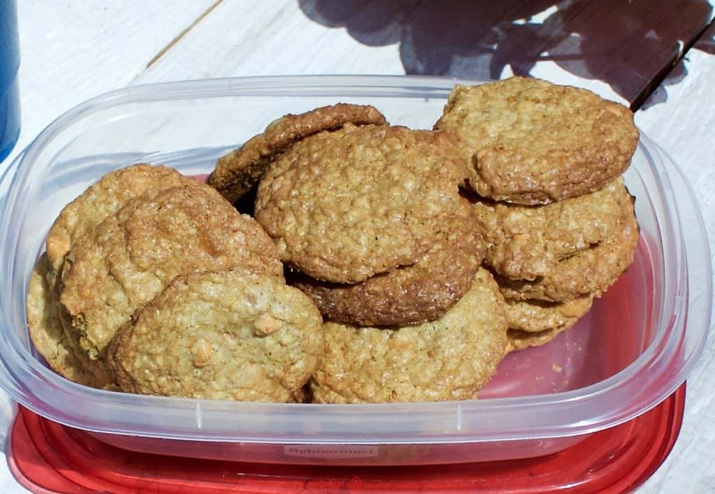 Delicious cookies great for the cookie jar, lunch box or picnic