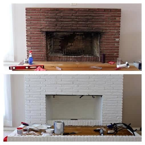 diy fireplace overhaul part 2 homemade food junkie. Black Bedroom Furniture Sets. Home Design Ideas