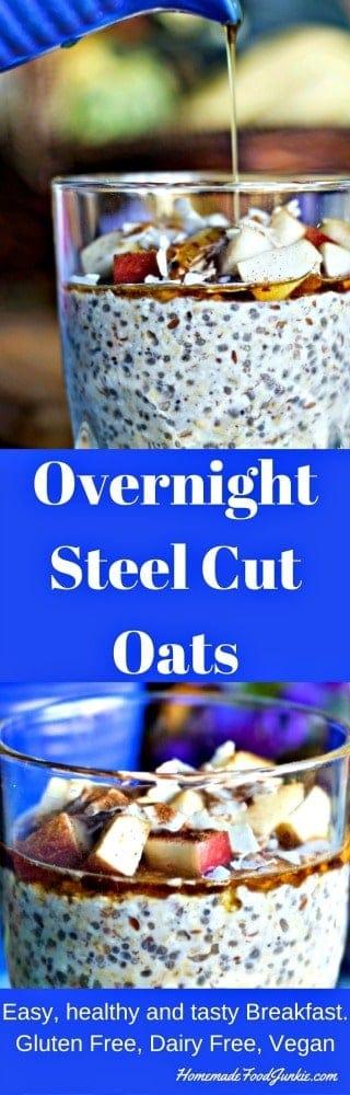 Overnight Steel Cut Oats Breakfast | Homemade Food Junkie